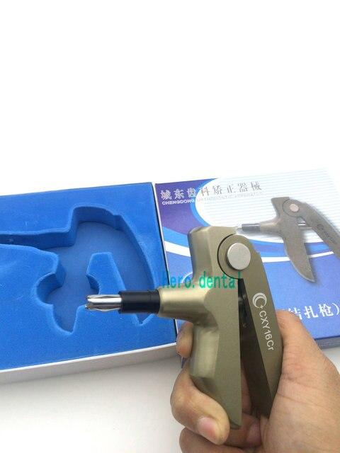 dental Metal Orthodontic Ligature Gun Dispenser Autoclavable
