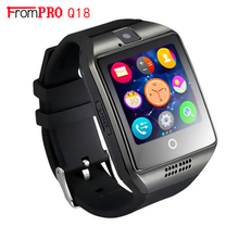 SmartWatch Q18 Bluetooth Smart часы NK18 S1 Камера Facebook WhatsApp Twitter синхронизации SMS Поддержка SIM карты памяти для IOS Android телефон