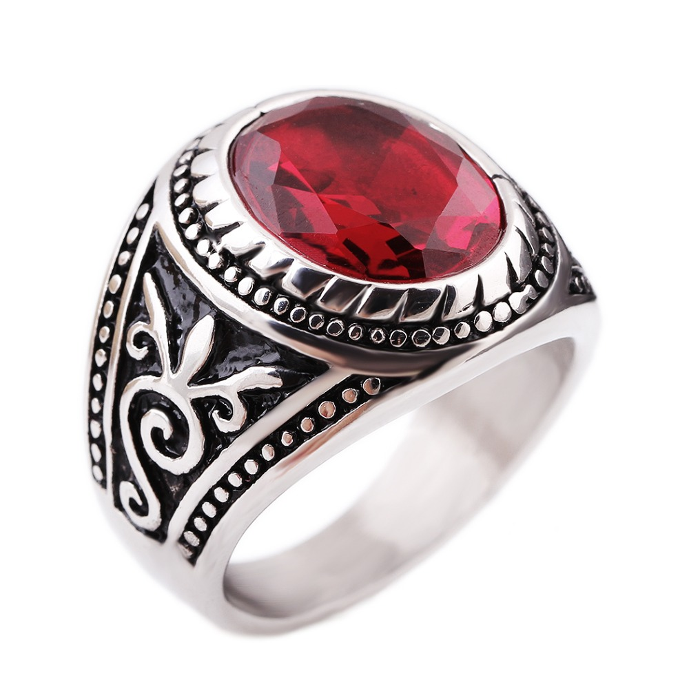 medieval style vintage retro peacock rings anels for women or man bohemia antique silver plated steel - Medieval Wedding Rings