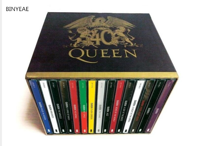 2017 Real The For Queen 40th Anniversary 30 Cd Box Set Booklets Full Collection Factory Sealed Limited Edition Free Shipping цена 2017