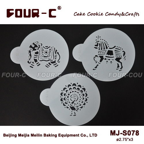 Indian Animals Set Cookie Set cake decorating stencils  fondant     Indian Animals Set Cookie Set cake decorating stencils  fondant cake  decorating tools plastic art stencils