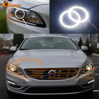 For Volvo S60 S60L V60 2014 Excellent Angel Eyes Ultrabright Illumination Smd Led Angel Eyes Halo