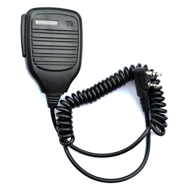 10 pcs Waterproof Remote Speaker Mic for Radio Bearcom BC100
