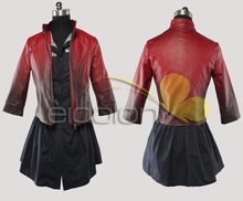 The Avengers 2 Scarlet Witch Cosplay Costume PU Leather Jacket+Dress Halloween Adult Costumes for Women Custom Any Size dc comics marvel avengers age of ultron scarlet witch cosplay costume custom made for halloween christmas cosplaylove