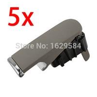 Set of 5 pcs Gray color 2001-2007 for A4 8E B6/ B7 Glove Box Lock Lid Handle 8E1857131 8E1-857-131
