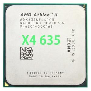 Amd athlon ii x4 635 processador central quad-core 2.9 ghz/l2 2 m/95 w/2000 ghz soquete am3 am2 +