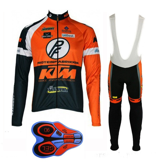 2017 KTM Cycling Long sleeve Jersey Rope Ciclismo Maillot Men s Outdoor MTB  Bicycle clothing Riding Bike Clothes Sportswear b99aad386