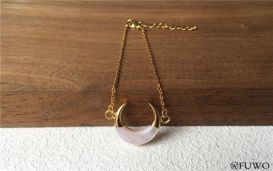Crescent Moon Shell Bracelet 10