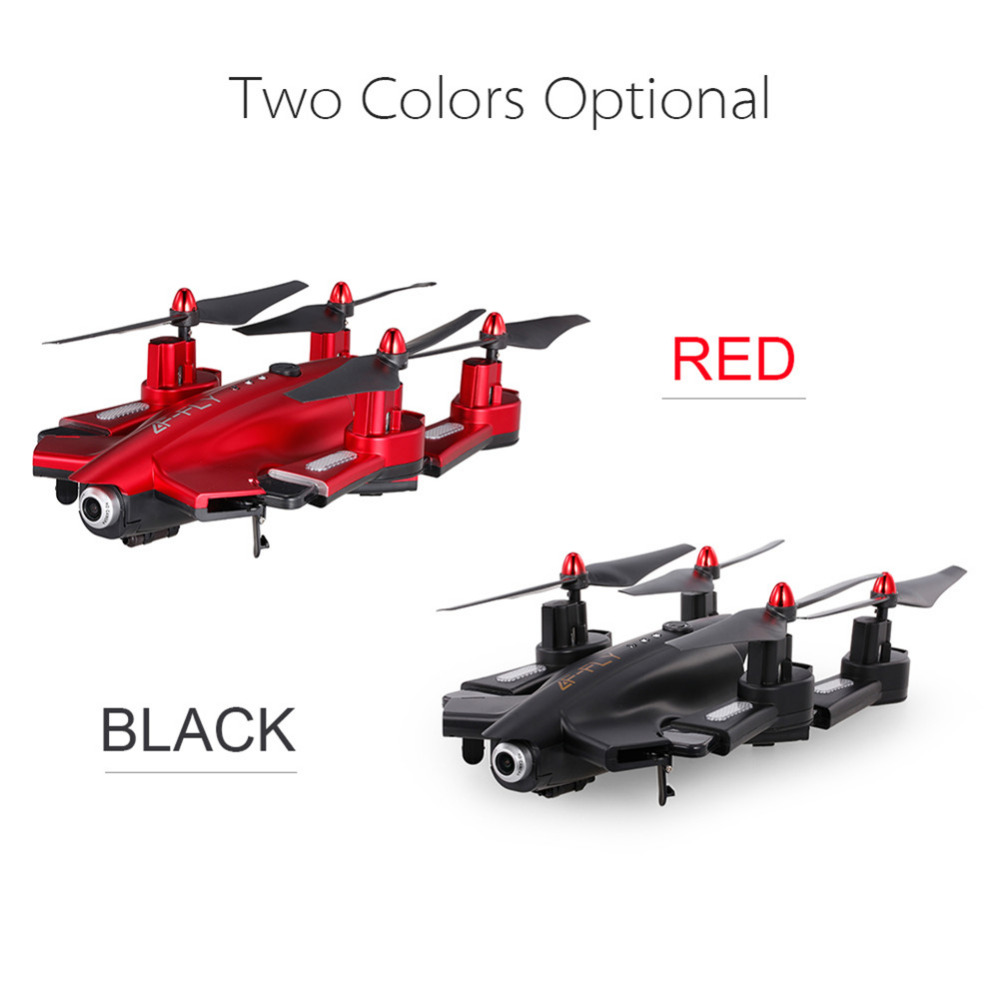 New 1pc Folding Quadcopter 0.3/2 Megapixel WIFI Camera FPV RC Drone best gift to Children Wholesale yizhan i8h 4axis professiona rc drone wifi fpv hd camera video remote control toys quadcopter helicopter aircraft plane toy