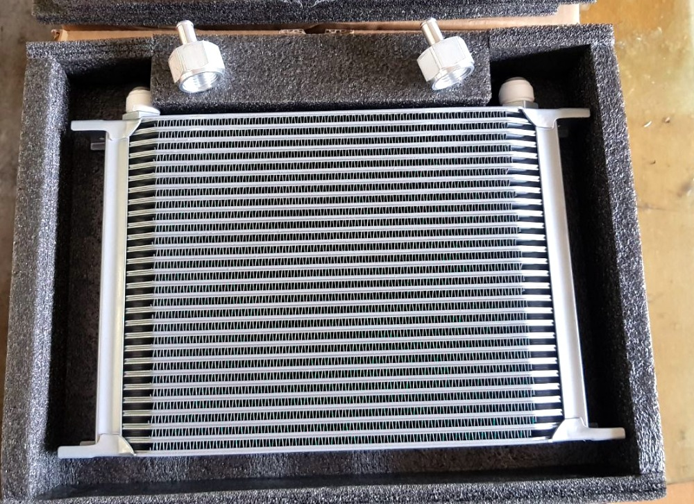 Universal Engine transmission MOCAL TYPE British 28rows AN10 oil cooler radiator for car auto tuning