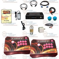 Arcade Controller Set With 960 In 1 Games Pandora Box 5 Wireless 2 Players Arcade Fighting