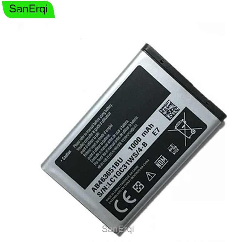 סוללה עבור סמסונג S5610 C3322 AB463651BU W559 S5620I S5630C C3518 J808 F339 S5560C C3370 C3200 S5296 L708E S5610 SanErqi