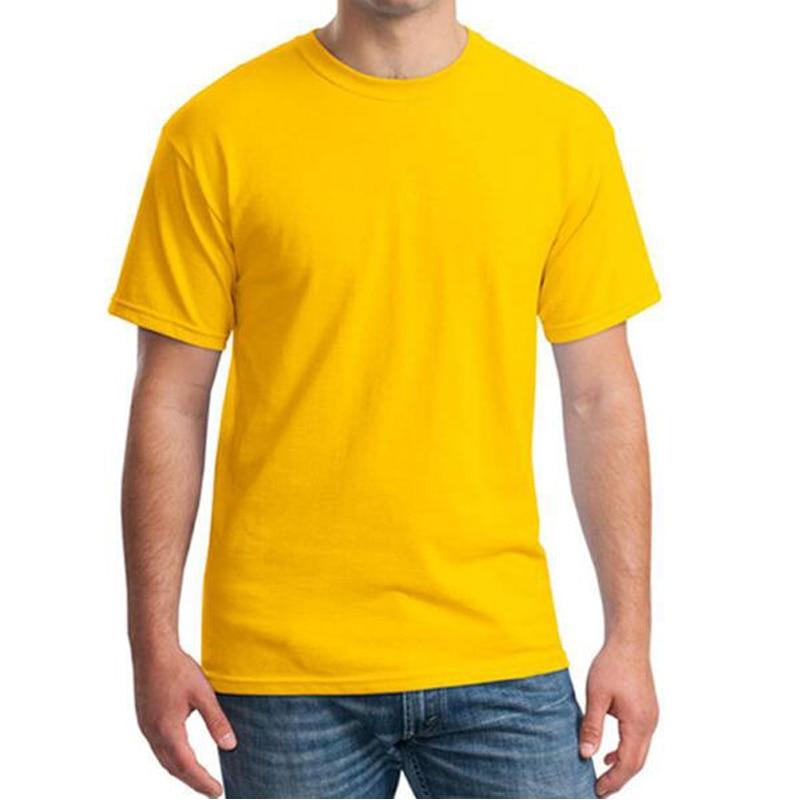 T shirt men o neck summer t shirt short sleeve tops solid for Solid color short sleeve dress shirts