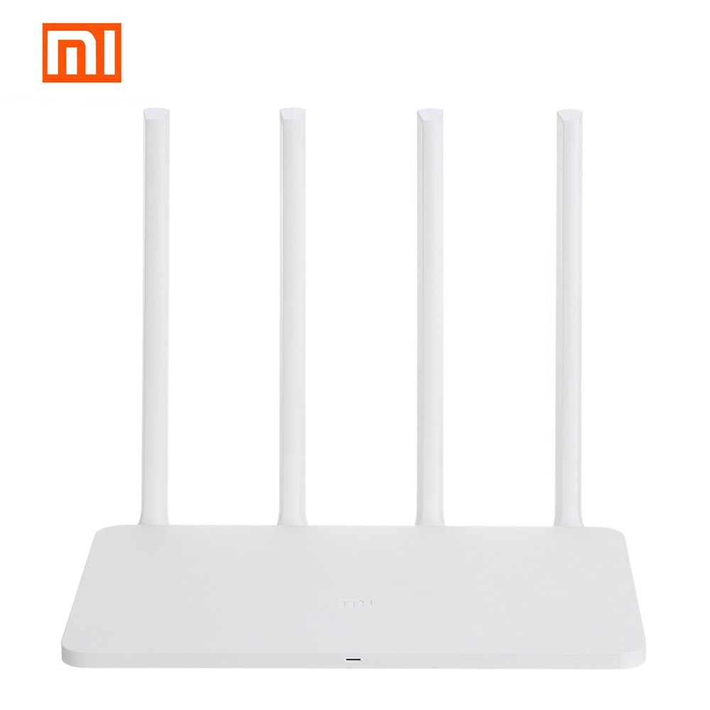 Original Xiaomi WiFi Router 3G 867Mbps 2.4G/5GHz Dual 128MB Band Flash 256MB ROM Memory APP Control MI Wireless Router original huawei honor router standard version ws831 dual band wifi 2 4ghz 300mbps 5ghz 867mbps beamforming home smart router