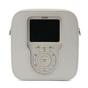 Image 3 - עבור Fujifilm Instax כיכר SQ10 SQ20 מיידי סרט תמונה מצלמה שחור/בז /חום עור מפוצל לשאת תיק מקרה עם כתף רצועה