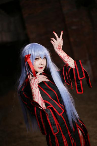 Fate Stay Night Dark Sakura Matou Anime Cosplay Costume Sexy