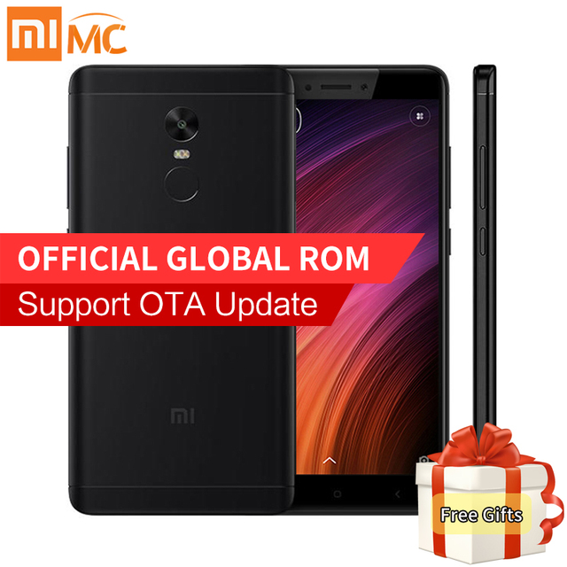 "Original Xiaomi Redmi Note 4X 3GB 32GB Smartphone Snapdragon 625 Octa Core 5.5"" FHD 13MP Camera 4G FDD LTE MIUI 9 Fingerprint"