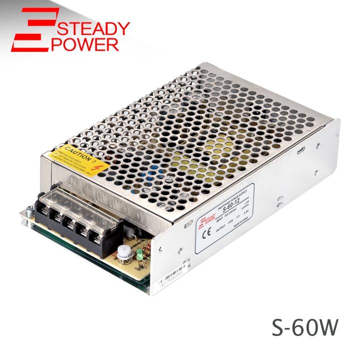 Gyártó 50W 75W 60W 5v 12a / 12V 5A / 24v 2,5a led tv-tápegység / - Világítási kiegészítők