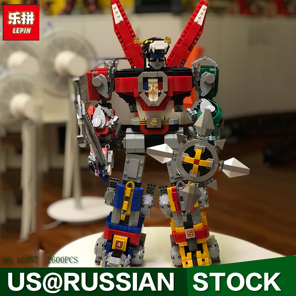 Lepin 16057 New Robot Toys Movie Series The 21311 Voltroned Set Building Blocks Bricks New Kids Model Toys Christmas Gifts