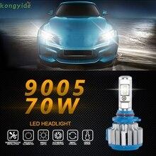 Auto car-styling car styling led  2pc 70W 7000LM 9005 Car LED Headlight B2 Canbus 6000K Kit Fog Lamp Head Light feb20