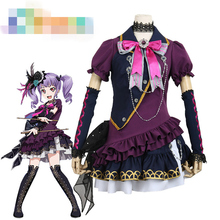 Anime Cosplay Costume BanG Dream BLACK SHOUT Udagawa Ako Concert Dress Z
