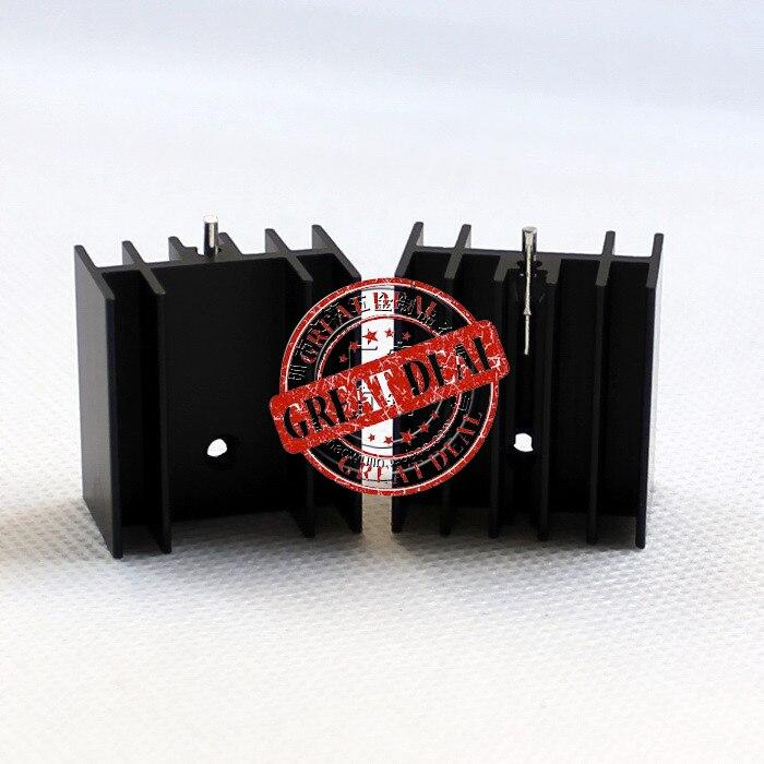 Free Ship 100PCS Custom High Quality Aluminum Heatsink  25*23*16MM To220 Heatsink