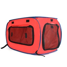 OLN Creative Vehicle Dog House consists of 210D Oxford Cloth a convenient foldable pet house with tent and fence