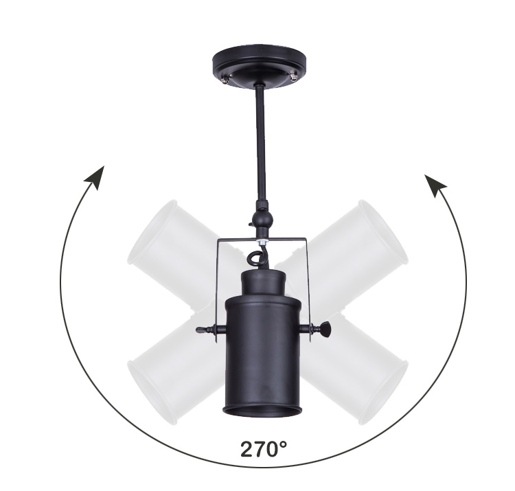 E27 Vintage Anhänger Lampe Schwarz Schmiedeeisen Lampe Schatten Kunst Deco Anhänger Lichter Moderne Esszimmer Leuchte für Home Beleuchtung