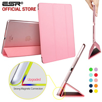 ESR Yippee Color Series Transparent Back Ultra Slim Light Weight Trifold Smart Cover Case For IPad