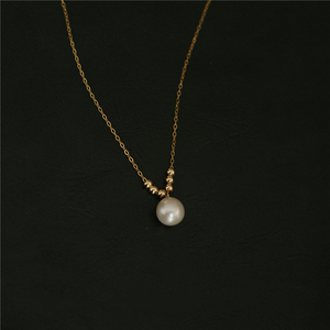 Image 4 - Natuurlijke Parel Choker Gold Filled Ketting Handgemaakte Vintage Charm Sieraden Collier Bijoux Femme Collares Boho Ketting Voor Vrouwen