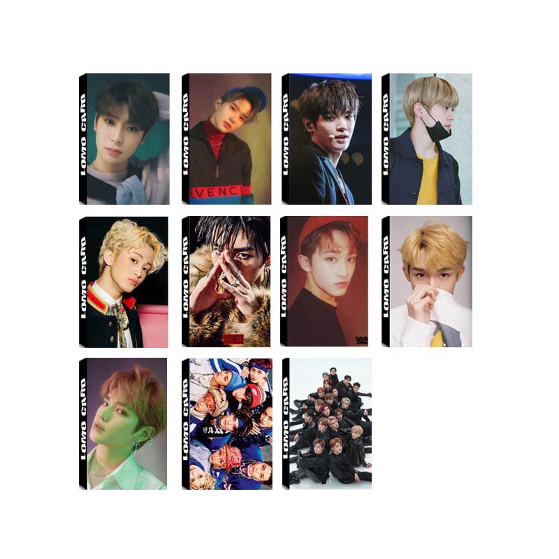 US $1 65 |Youpop KPOP NCT 2018 Empathy NCT U 127 DREAM Album LOMO Cards K  POP New Fashion Self Made Paper Photo Card Photocard LK550-in Jewelry