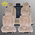 KOPOHA MEX  faux  fur loog wool car seat covers universal size  accessories car-covers automobiles High Quality 1 set seat