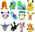 Figure Plush Toys Stuffed soft From Japan Doll Anime Pikachu Charizard Lapras Snorlax Sylveon Umbreon Kawaii Baby Adult Toy Gift