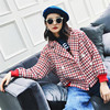 2018 Autumn Winter New Woollen Baseball Spring Jacket Women Fashion Female Plaid Ladies Jacket Casual Coat