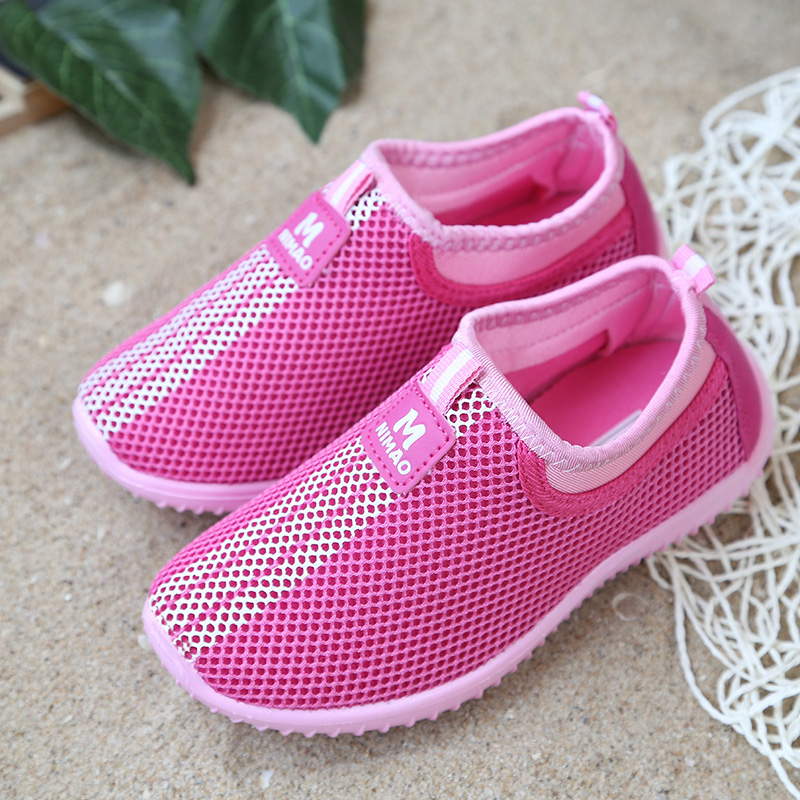 PDEP Brand Summer Teenagers Kids Boy Girl Running Sport Casual Footwear Soft Children Breathable Spring Casual Sneaker
