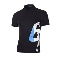 Plus Size 3XL Brand Digital Polo Shirt Men Business Casual Short Sleeve Shirts Streetwear High Quality