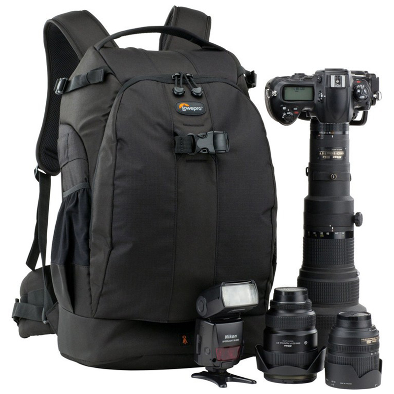 EMS wholesale gopro Genuine Lowepro Flipside 500 aw FS500 AW shoulders camera bag anti theft bag