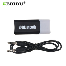 Kebidu Wireless Receiver Adapter Bluetooth 5.0 USB Dongle Music Adaptor A2DP Dongles For Car AUX Speakers Phone 3.5mm Audio