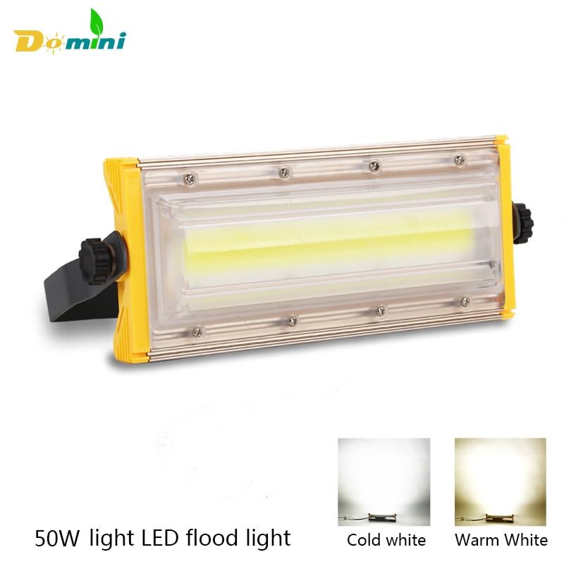 Outdoor Lighting LED Flood Light 50W100W IP65 Waterproof FloodLight Refletor LED Spotlight lighting for Billboard Street Garden