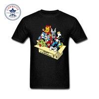 2017 diverse kleuren grappig katoen korte mouw super hero hond gedrukt t-shirt voor mannen