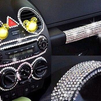 26cmx10cm Car Crystals stickers