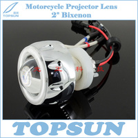 Motorcycle Parts Full Set Lamp 2 0 HID Bixenon Headlight Projector Lens Bulb LED Angel Eye