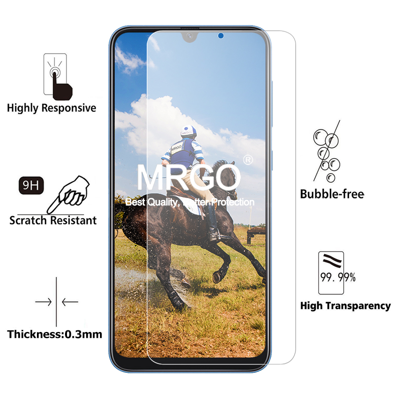 Image 2 - 2Pcs Tempered Glass for Samsung Galaxy A50 A10 A70 Screen Protector Glass for Samsung A50 A30 A20E A70 A60 A80 A20 A10 Glass-in Phone Screen Protectors from Cellphones & Telecommunications