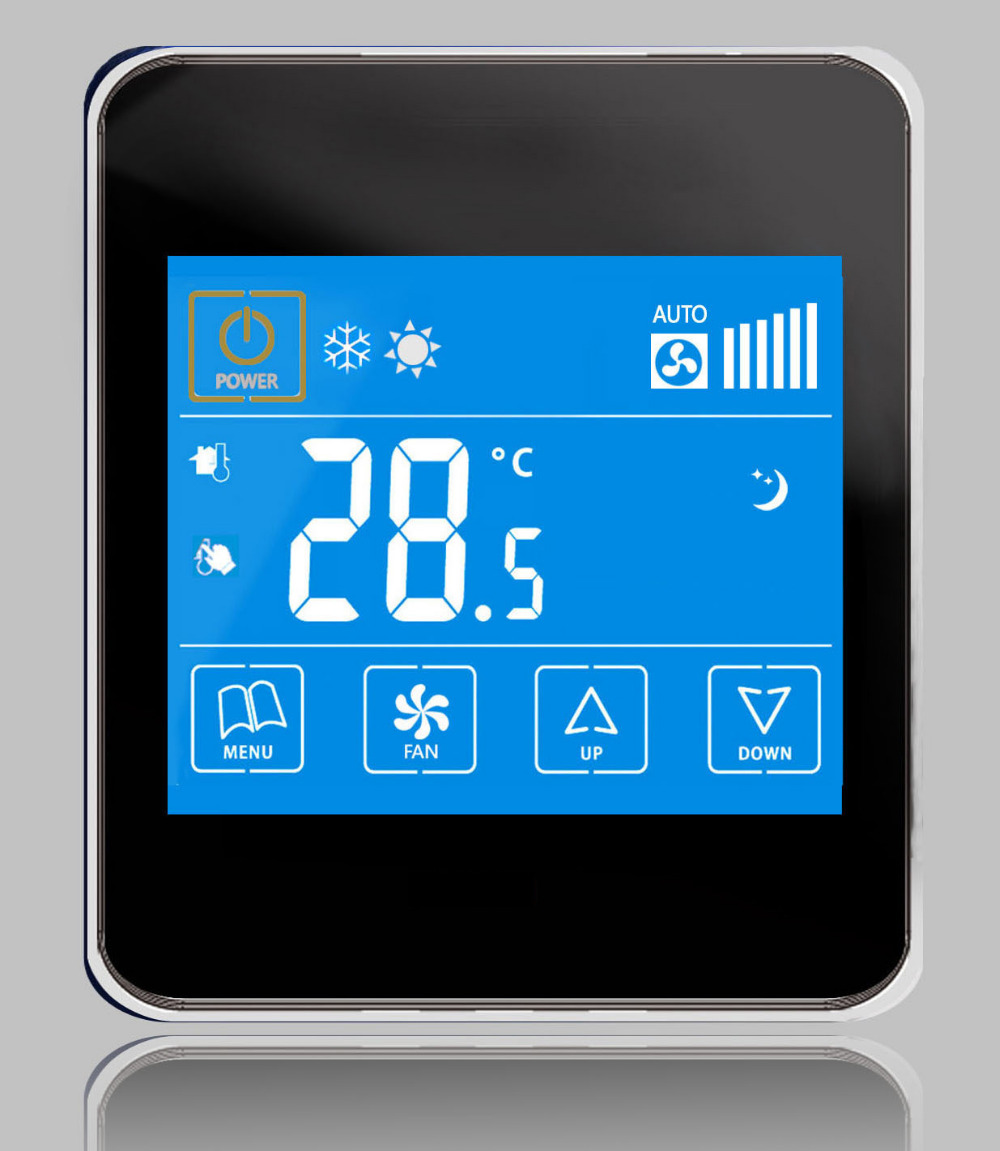 control precision 0.5 degree Memory function cooling heating thermostat With Anti - freezing protection