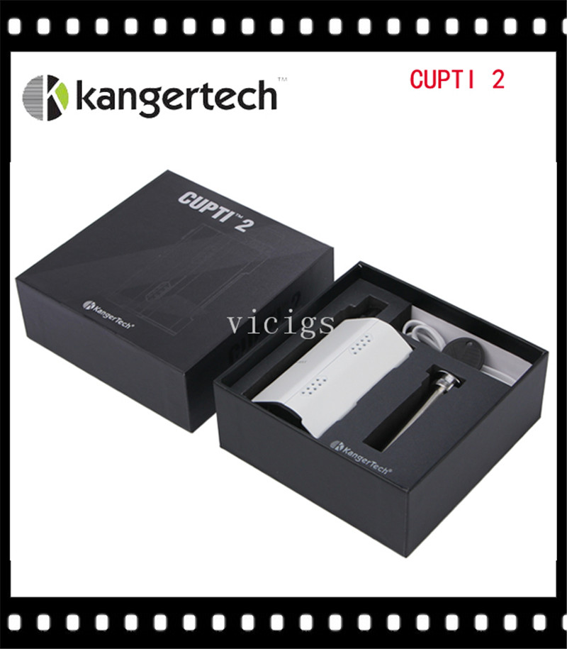 ФОТО 100% Original Kanger CUPTI-2 All-in-One Starter Kit with 5.0ml Capacity and Powered by Two 18650 Batteries