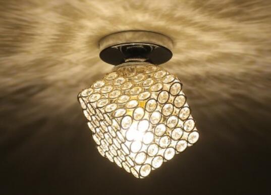 Eenvoudige led led crystal plafondlamp creatieve gang lamp trappen