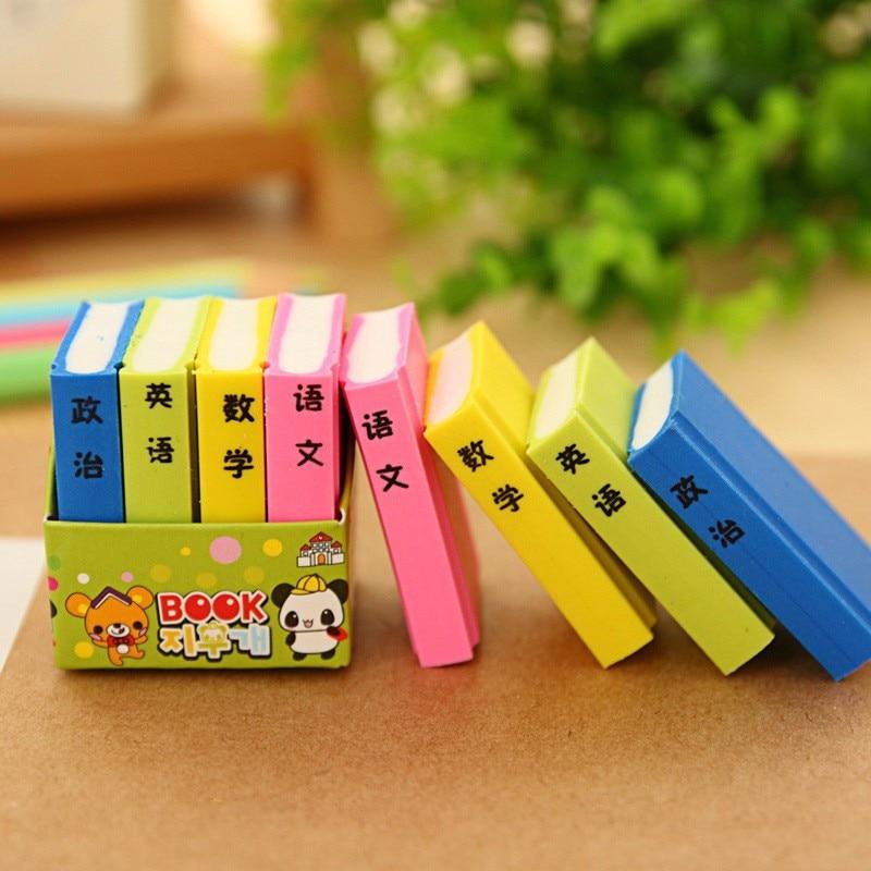 4 Pcs Korean Students Stationery Cute Color Creative Books