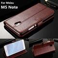 """Titular do cartão carteira case meizu m5 nota capa case para meizu m5 nota 5.5 """"couro phone case capa flip"""