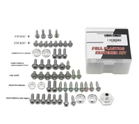 Motorcycle CNC Aluminum Fairing Body Screws Cover Bolts Screw Kits For KTM SX/XC 2011 2014 EXC/XCW 2012 2016