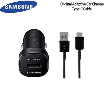 Original Samsung Fast Quick Adaptive Car Charger USB 3.1 TYPE C Data SYNC Cable For Galaxy S8 S9 Plus Note 7 8 9 A3 A5 A7 2017
